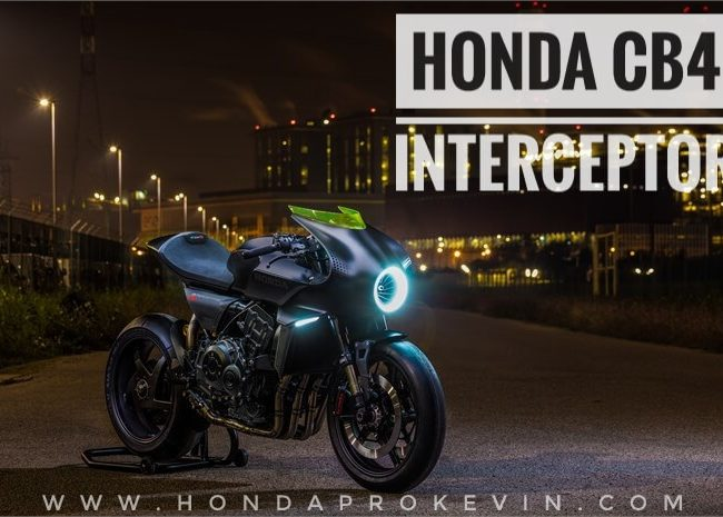 2019 Honda CB4 INTERCEPTOR Motorcycle | Naked CBR Sport Bike StreetFighter / Cafe Racer Concept Pictures