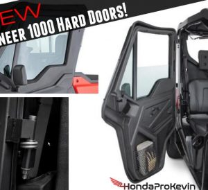 New Honda Pioneer 1000 & 1000-5 Hard Front Doors, Price, New Changes + More!