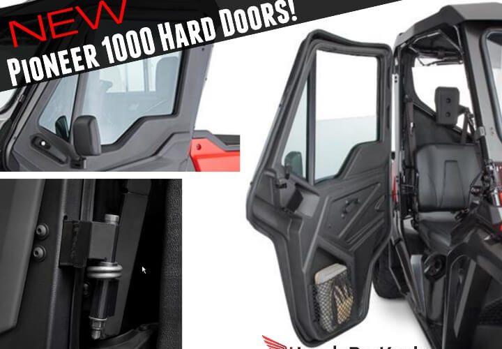 New Honda Pioneer 1000 & 1000-5 Hard Front Doors, Price, New Changes + More!