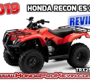 2019 Honda Recon ES 250 ATV Review / Specs | Buyer's Guide: Price, Changes, Colors, HP & TQ Performance Info, Towing Capacity, Dimensions + More! | TRX250 / TRX250TE - FourTrax 250cc Four-Wheeler