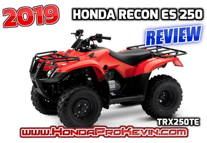 2019 honda recon es 250 atv review specs features trx250te rh hondaprokevin com Honda FourTrax 250 2013 Honda 250 ATV