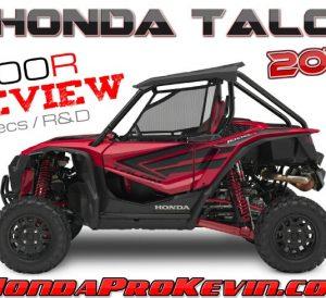 2019 Honda TALON 1000R Review / Specs: Price, Release Date, Horsepower, Colors + More! | Sport SxS / UTV / Side by Side ATV 1000 cc
