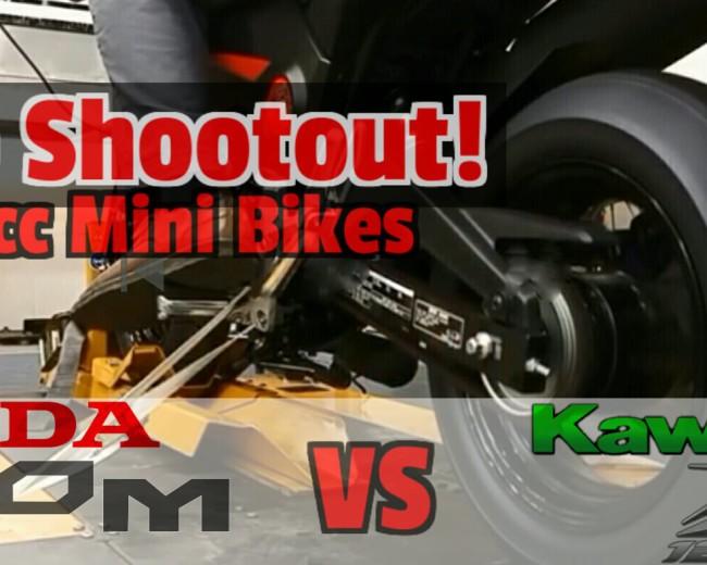 New 2017 Kawasaki Z125 vs Honda Grom HP & TQ Specs Comparison Review   Dyno Video