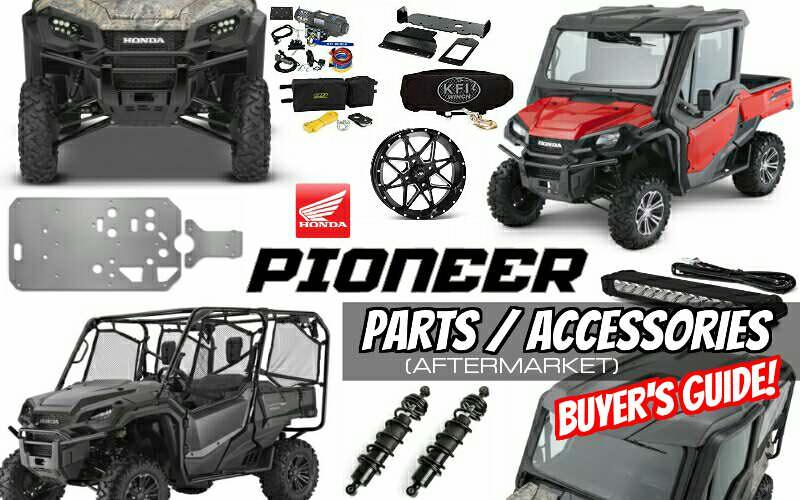 2016-2018 Aftermarket Honda Pioneer 1000 Accessories ...