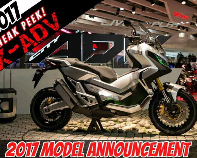 The 2017 Honda X-ADV Adventure Scooter is COMING! | New Video of ...