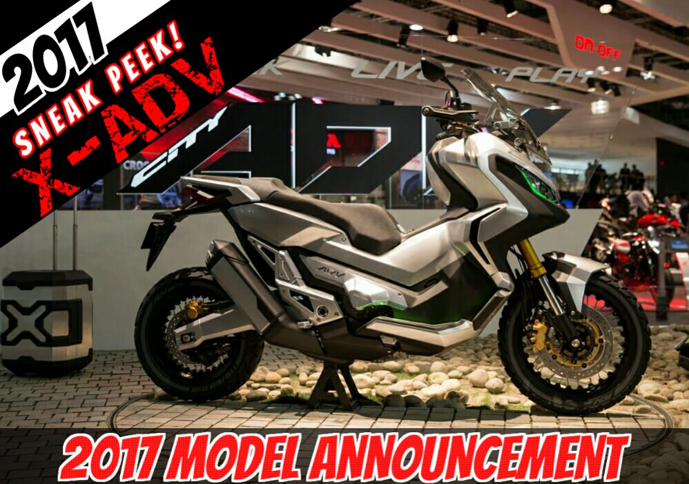 The 2017 Honda X Adv Adventure Scooter Is Coming New Video Of