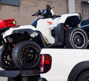Custom 2017 Honda Rubicon 500 ATV + Ridgeline Truck Build for SEMA!