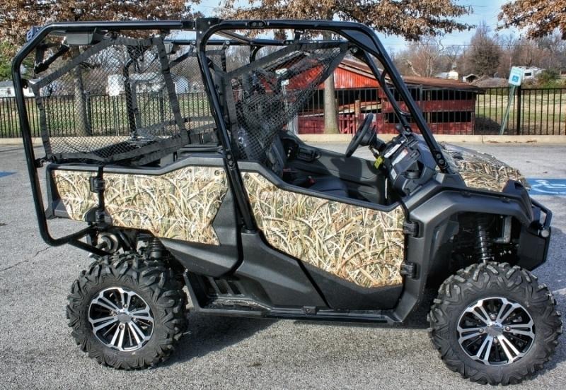 custom honda pioneer 1000 5 camo wrap mossy oak treestand honda pro kevin. Black Bedroom Furniture Sets. Home Design Ideas