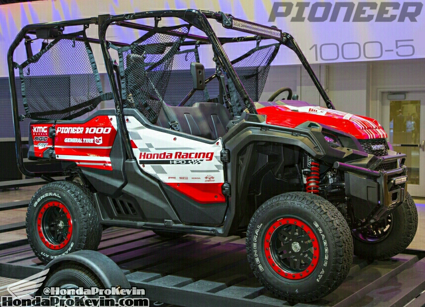 Official 2016 Honda Pioneer 1000 1000 5 Price Side