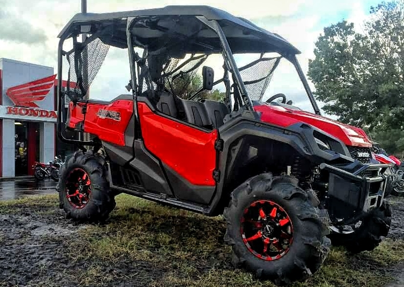 2016 Honda Pioneer 1000 5 On 30 Tires Amp Wheels