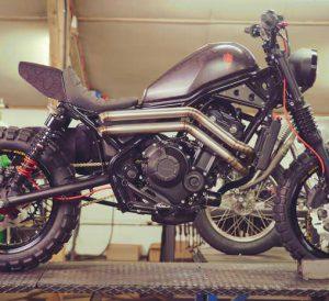 Custom Honda Rebel 500 & 300 Motorcycle / Bike Build - Bobber, Dual Sport Enduro