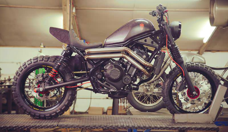 Rebel 250 Custom >> Custom 2017 Honda Rebel 500 Bobber / Dual-Sport Enduro / Cruiser Motorcycle Build - Must See!