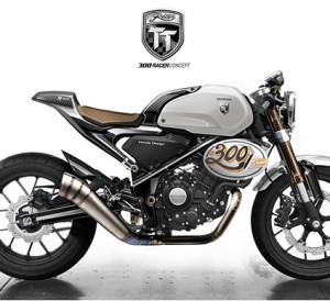 2017 Honda 300 TT Racer Concept Motorcycle - Retro / Vintage Cafe Racer Bike