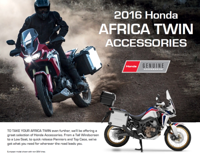 2016-Honda-Africa-Twin-CRF1000L-Accessories-Prices ...