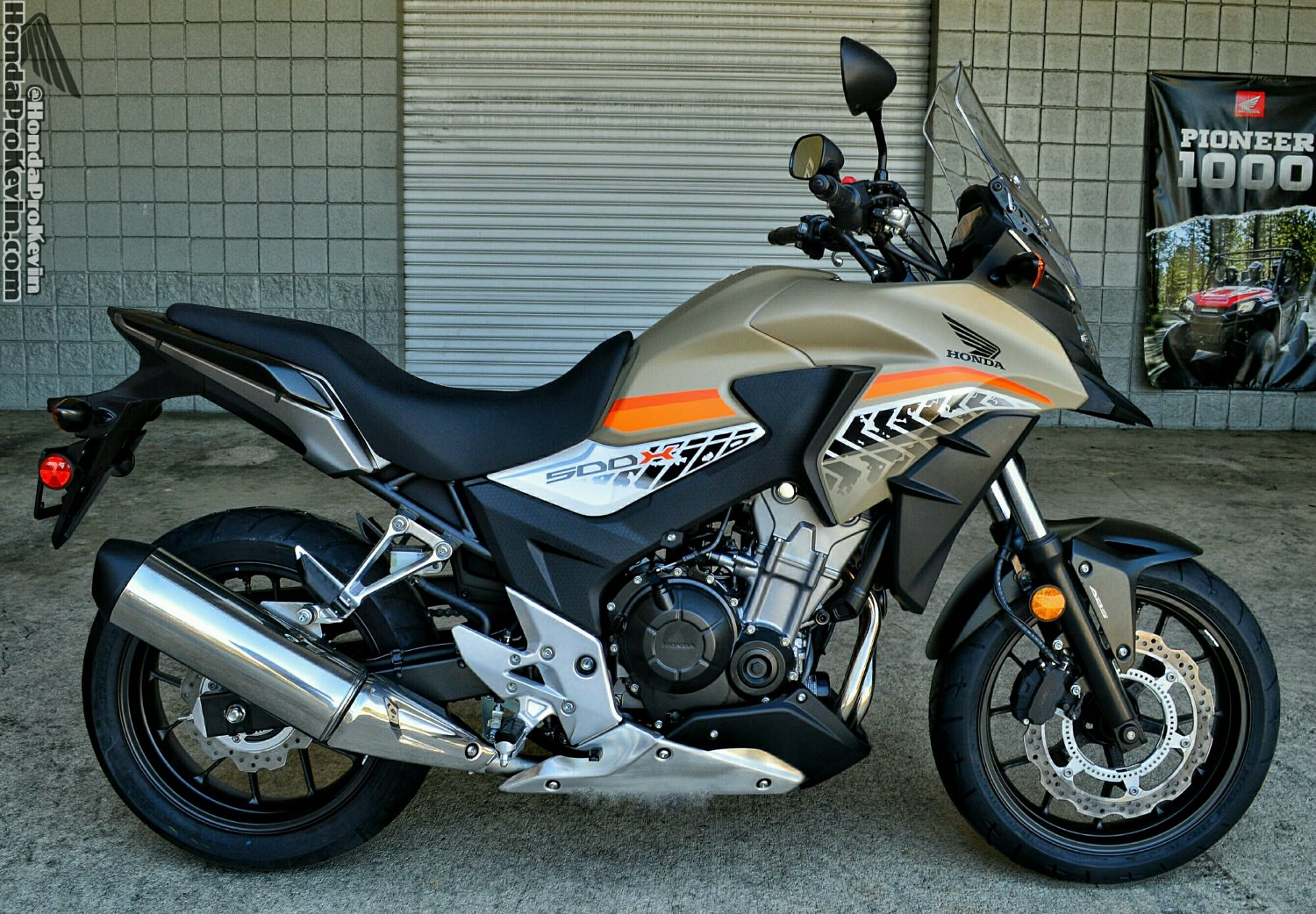 2016 CB500X Adventure Motorcycle Review