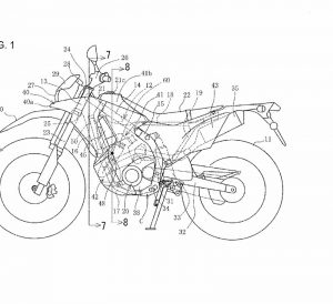 2017 / 2018 Honda CRF250 Rally - Adventure Motorcycle Patents - Concept Bike