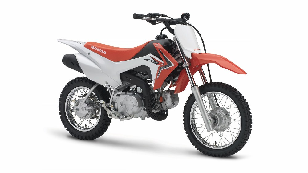 2017 Honda CRF110F Motorcycle Review / Specs