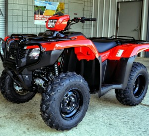 2017 Honda ATV Model Lineup Review - News / Update Announcement