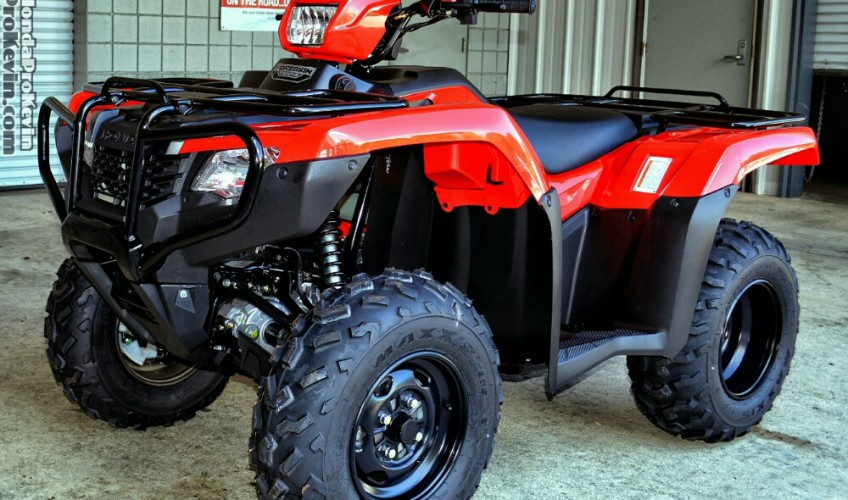 2016 Honda Foreman 500 Atv Lineup Comparison Differences