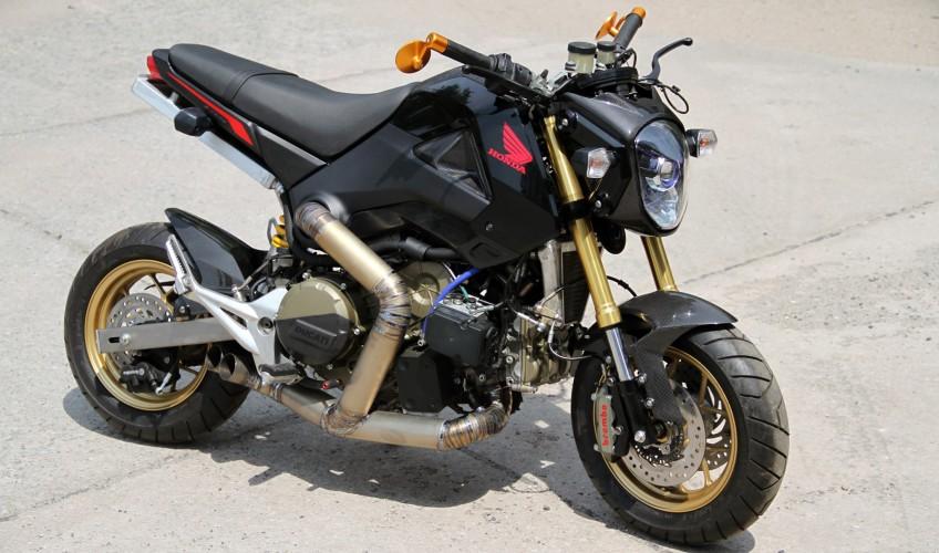 Honda Grom Msx Ducati Panigale Engine Swap Insane Honda Pro