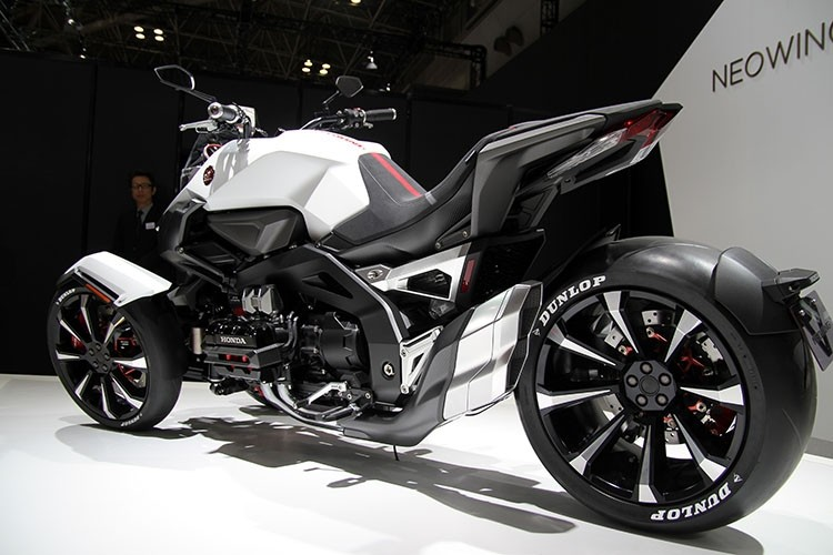 Honda 4 Wheeler Bike >> Honda Neo Wing = New 2017 Trike / 3 Wheel Motorcycle? GoldWing Cousin? | Honda-Pro Kevin