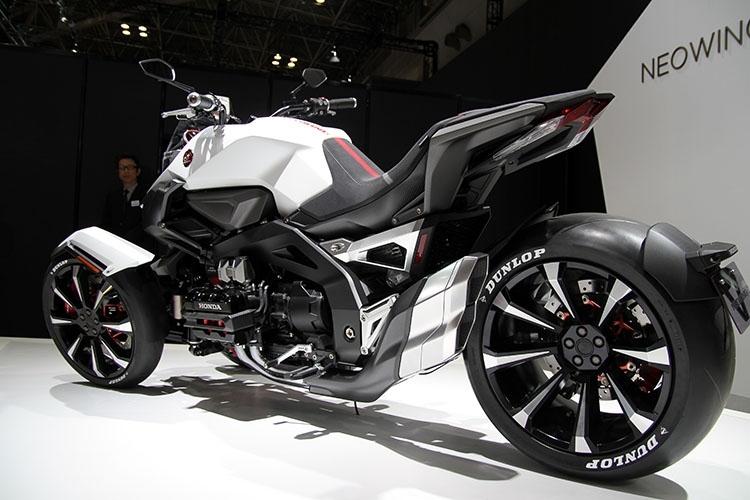 honda neo wing new 2017 trike 3 wheel motorcycle. Black Bedroom Furniture Sets. Home Design Ideas