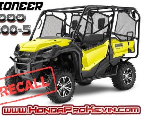 2018 - 2016 Honda Pioneer 1000 Recall / Stop Sale | Muffler Heat Shield Part Replacement - Side by Side / UTV / SxS (Pioneer 1000 & 1000-5 Model Lineup)