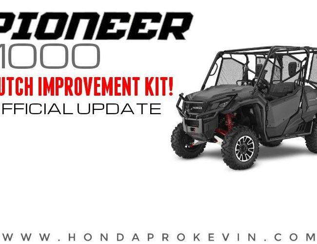 Honda Pioneer 1000 Clutch Improvement Kit Fix for Slipping Problems