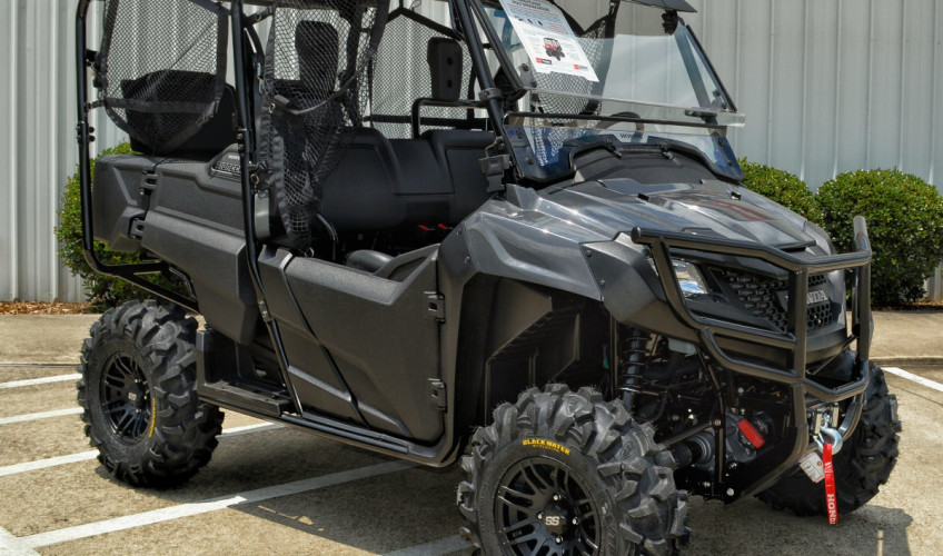 2014 2018 Honda Pioneer 700 4 Accessories Review Prices Detailed