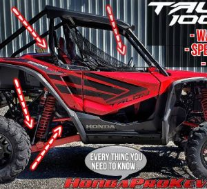 2019 Honda TALON 1000R Video Review: Here's why the NEW Sport SxS is worth the $20,999 price tag...