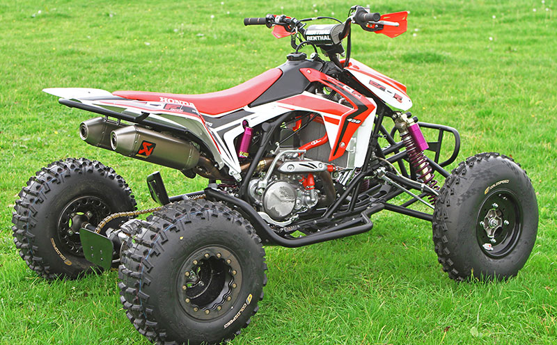 2016 / 2017 Honda CRF450R Engine TRX450R Sport ATV / Race Quad Model ...