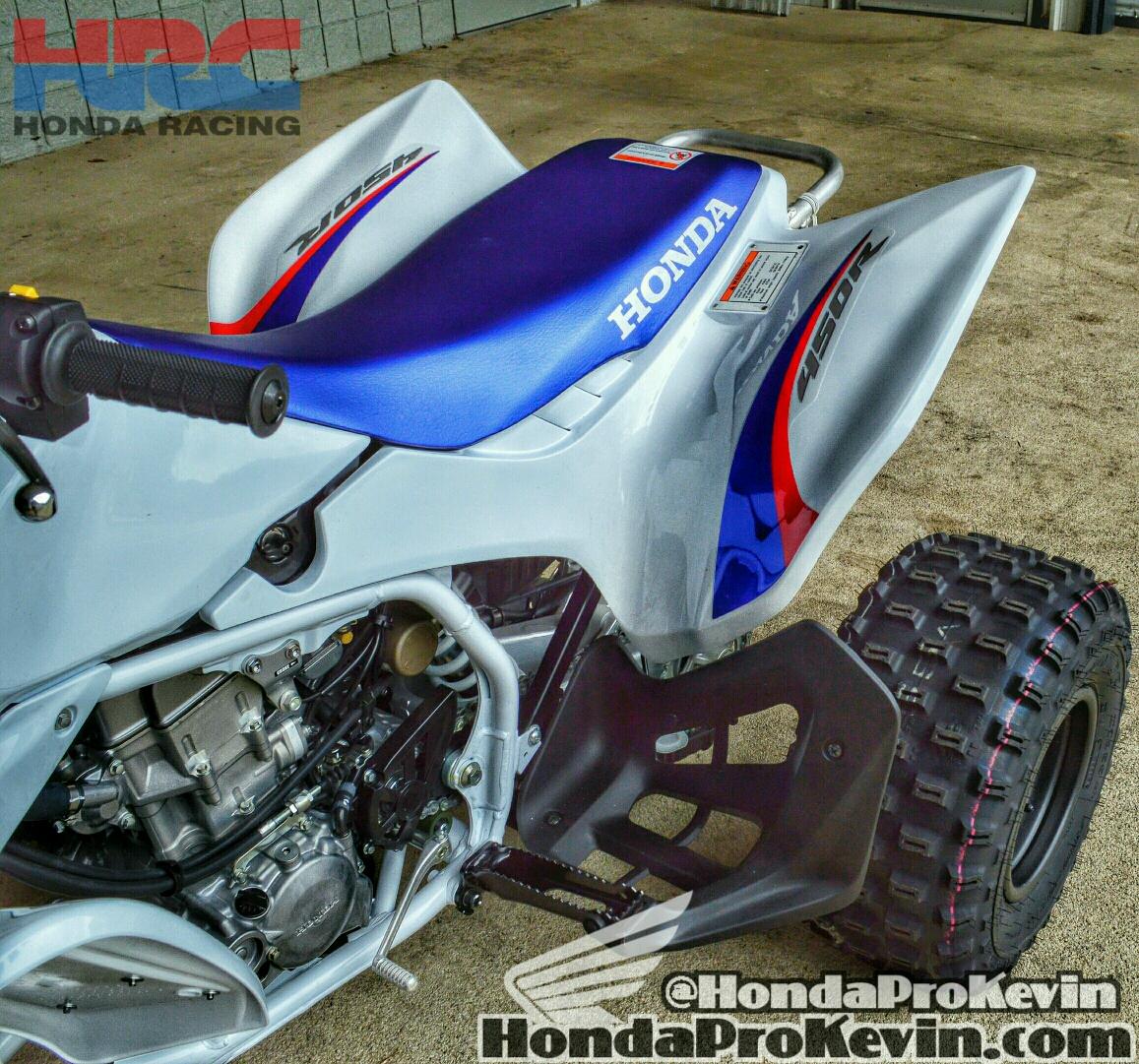 2015 Honda Trx450r >> Honda TRX450R Tri-Color Special Edition | Honda-Pro Kevin
