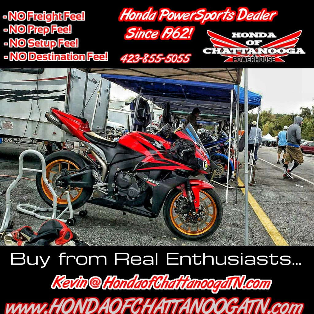 Kevin Wethington CBR600RR Honda of Chattanooga TN