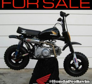 Vintage Honda 50 Mini Bike / Dirt Bike / Trail Bike Z50R