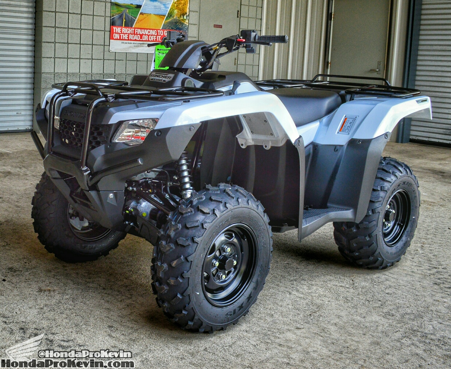 rancher  dct irs eps atv review specs price pictures
