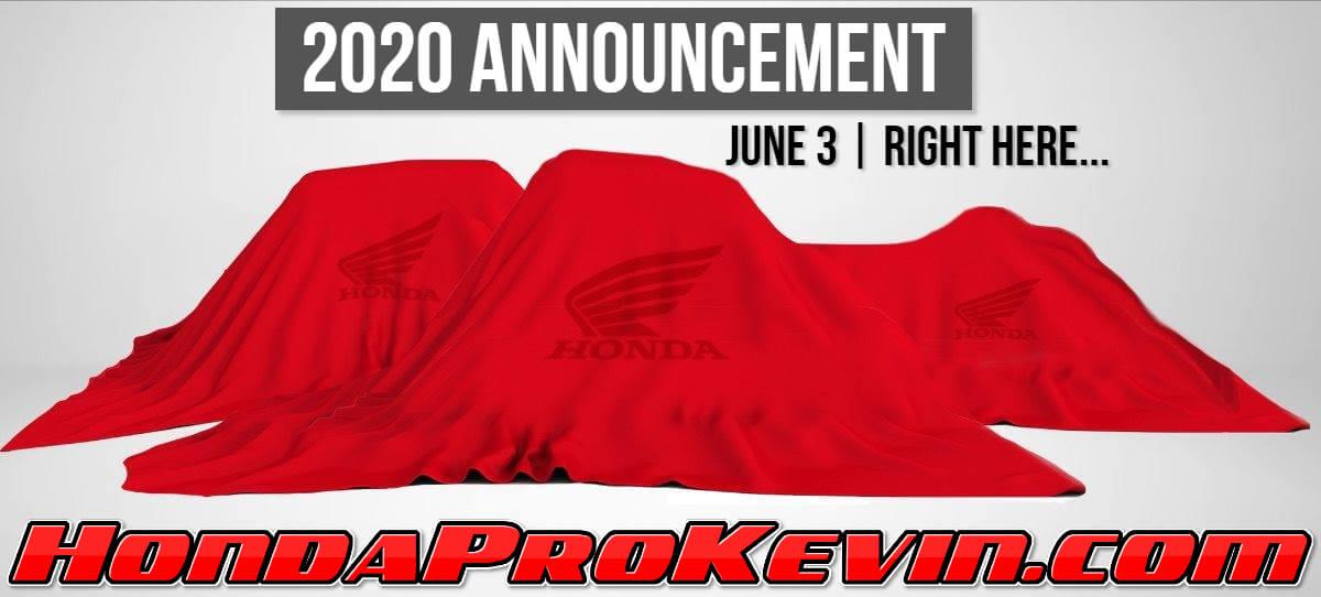 NEW 2020 Honda ATV / SxS / Side by Side Models Announced | Announcement / Release | 2020 Honda Pioneer, TALON, Foreman, Rubicon, Rancher, Rincon