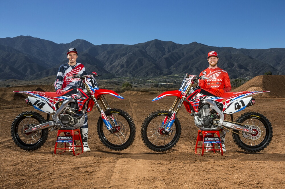 2015 Honda 450R >> 2016 CRF450R Race Bikes & Team Honda HRC Presents 2016 ...