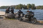 2016 Honda GoldWing Motorcycle Ride - Review of Specs - Features - Price - MPG - Options - Touring Motorcycle GL1800