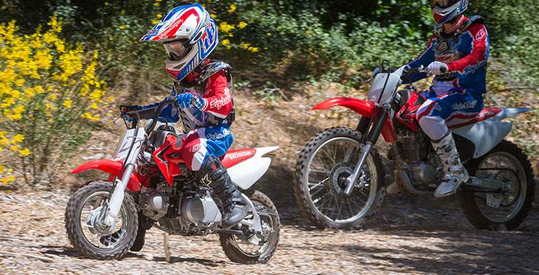 2017 Honda Crf110f Motorcycle Review Specs Off Road