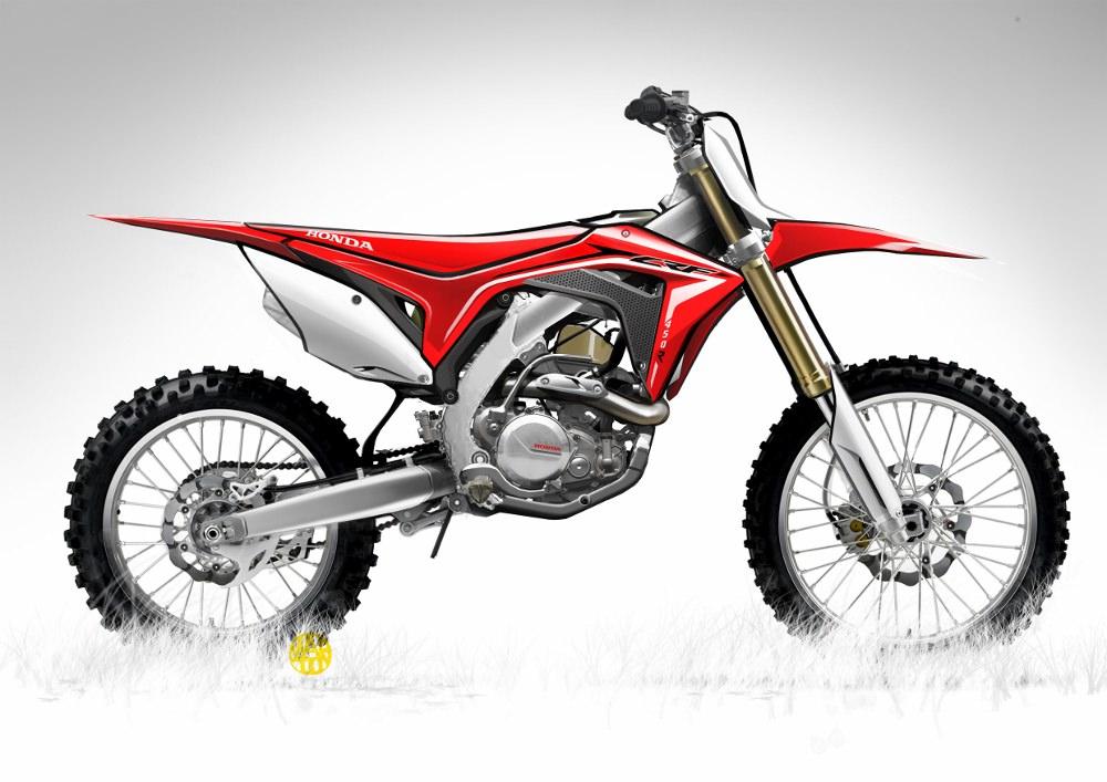 All New 2017 Honda Crf450r Crf450rx Dirt Bikes Motorcycles