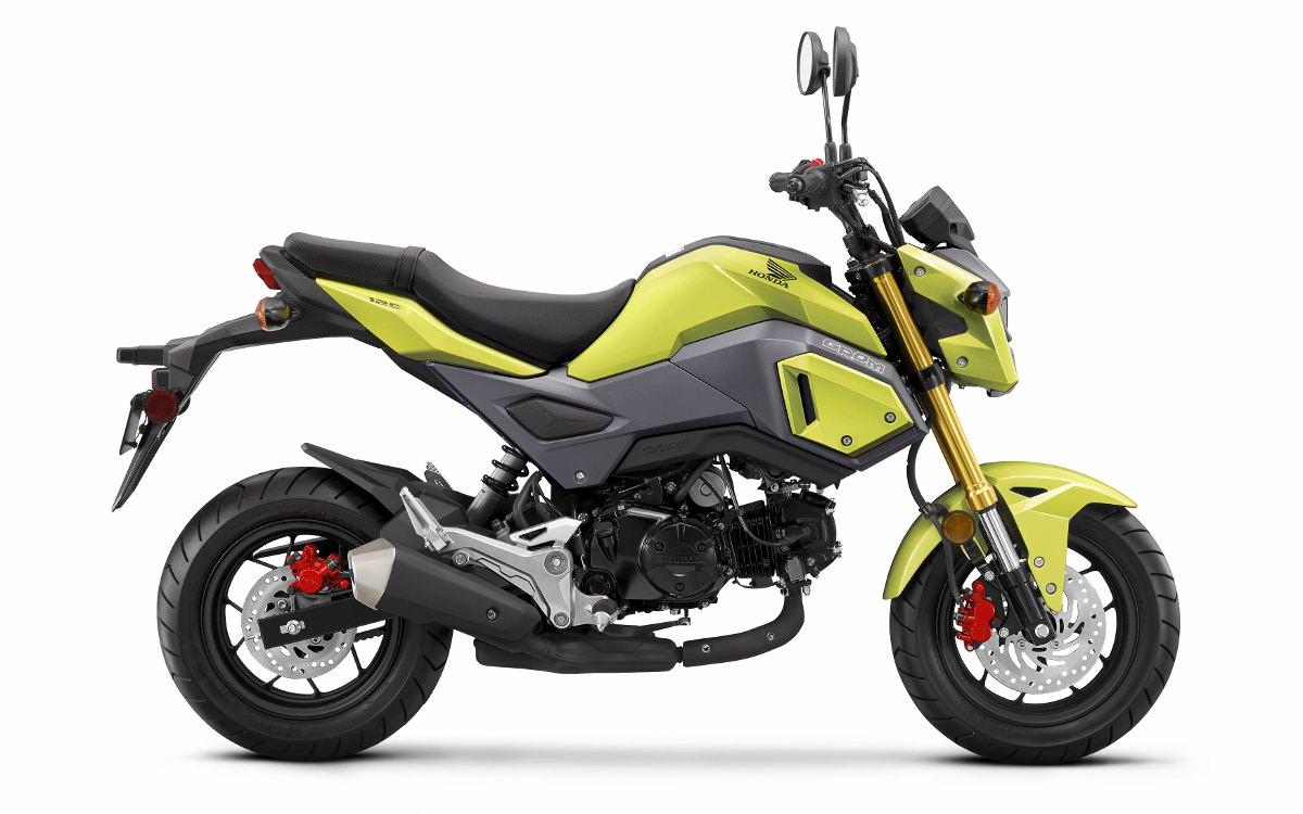 2017 Honda Grom 125 Review Specs Changes Motorcycle Mini Bike 125cc