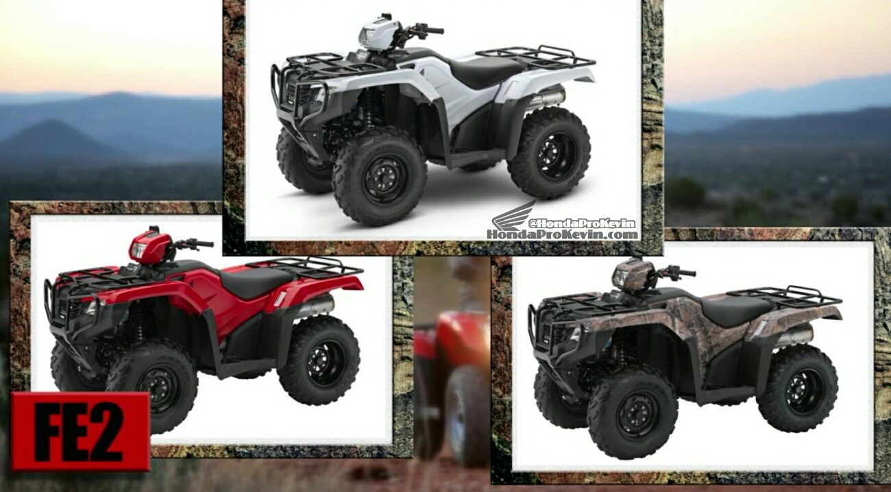 2017 Honda Foreman 500 Models Review / Specs / Price / Release Date - Rincon, Rubicon, Foreman, Rancher, Recon
