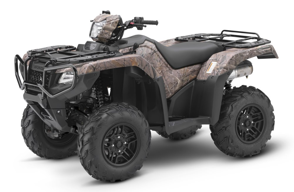 2017 Honda Rubicon Deluxe Camo 500 DCT EPS ATV Review / Specs - TRX500FA7 4x4 Four Wheeler - Dual Clutch Automatic Transmission + Electric Power Steering