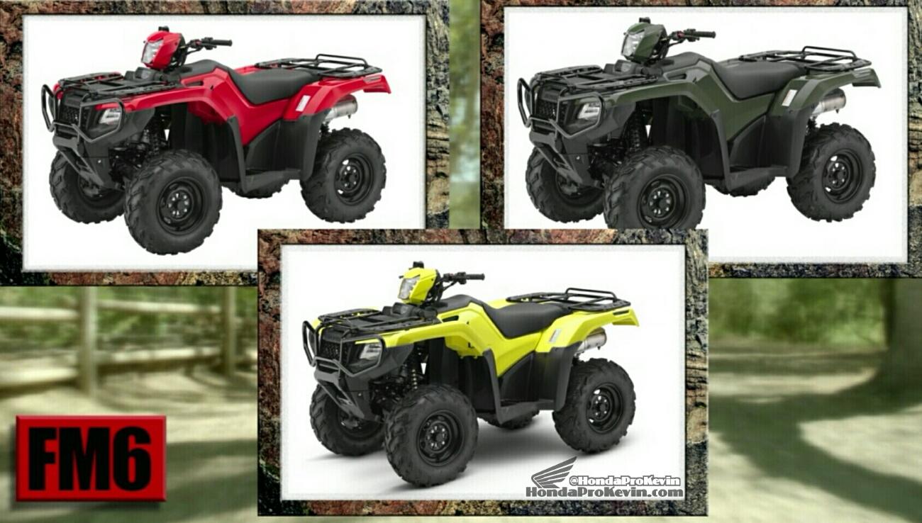 2017 Honda Rubicon 500 ATV Review / Specs / Price / Release Date - TRX500 Rubicon, Foreman, Rancher, Recon