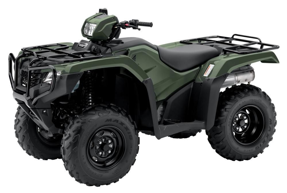 2017 Honda Foreman TRX500 ATV Review / Specs - TRX500FM1 4x4 FourTrax Four Wheeler - Manual Shift