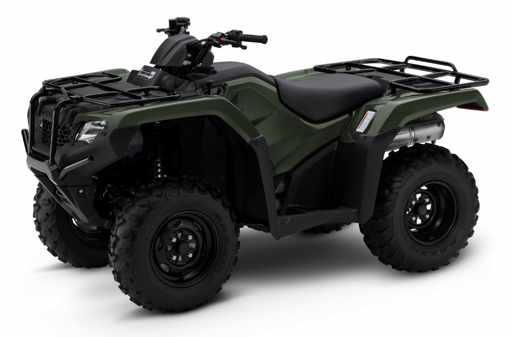 2017 Honda Rancher 420 4x4 Manual Shift ATV Review / Specs / Price TRX420FM1 - Rincon, Rubicon, Foreman, Rancher, Recon