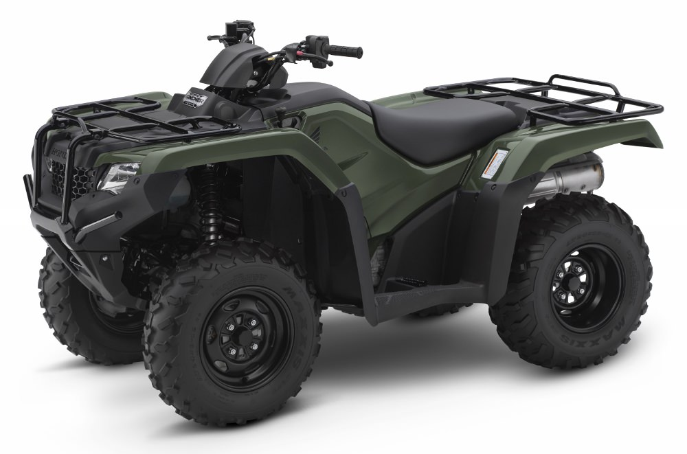 2017 Honda Rancher DCT EPS ATV Review / Specs / Price / HP & TQ - TRX420FA2 / TRX420FA1