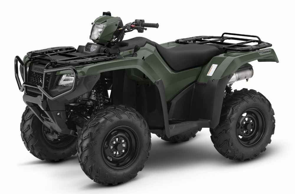 2017 Honda Rubicon 500 EPS ATV Review / Specs - TRX500FA6 4x4 Four Wheeler - Dual Clutch Transmission Automatic + Electric Power Steering + IRS