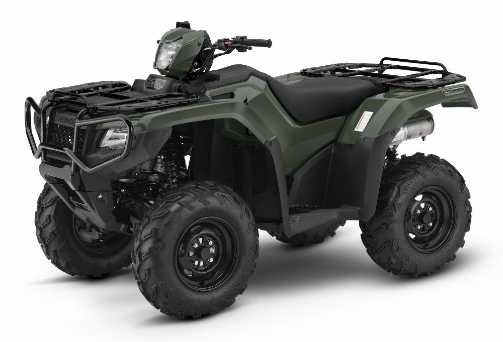 2017 Honda Rubicon 500 EPS ATV Review / Specs - TRX500FM6 4x4 Four Wheeler