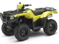 Yellow 2017 Honda Rubicon 500 EPS ATV Review / Specs - TRX500FM6 4x4 Four Wheeler